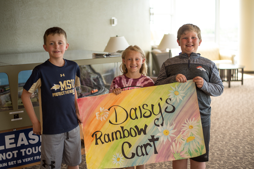 Daisy's Rainbow Cart Toy Program Created to Benefit Pediatric Patients at Benefis Health System