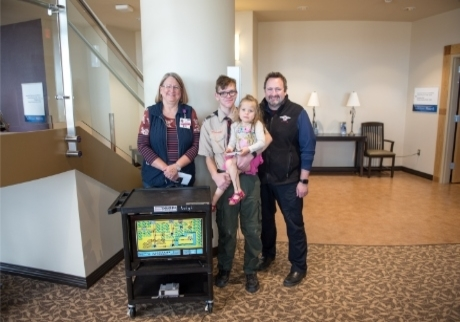 Eagle Scout donates game carts to Benefis NICU, Emergency Department